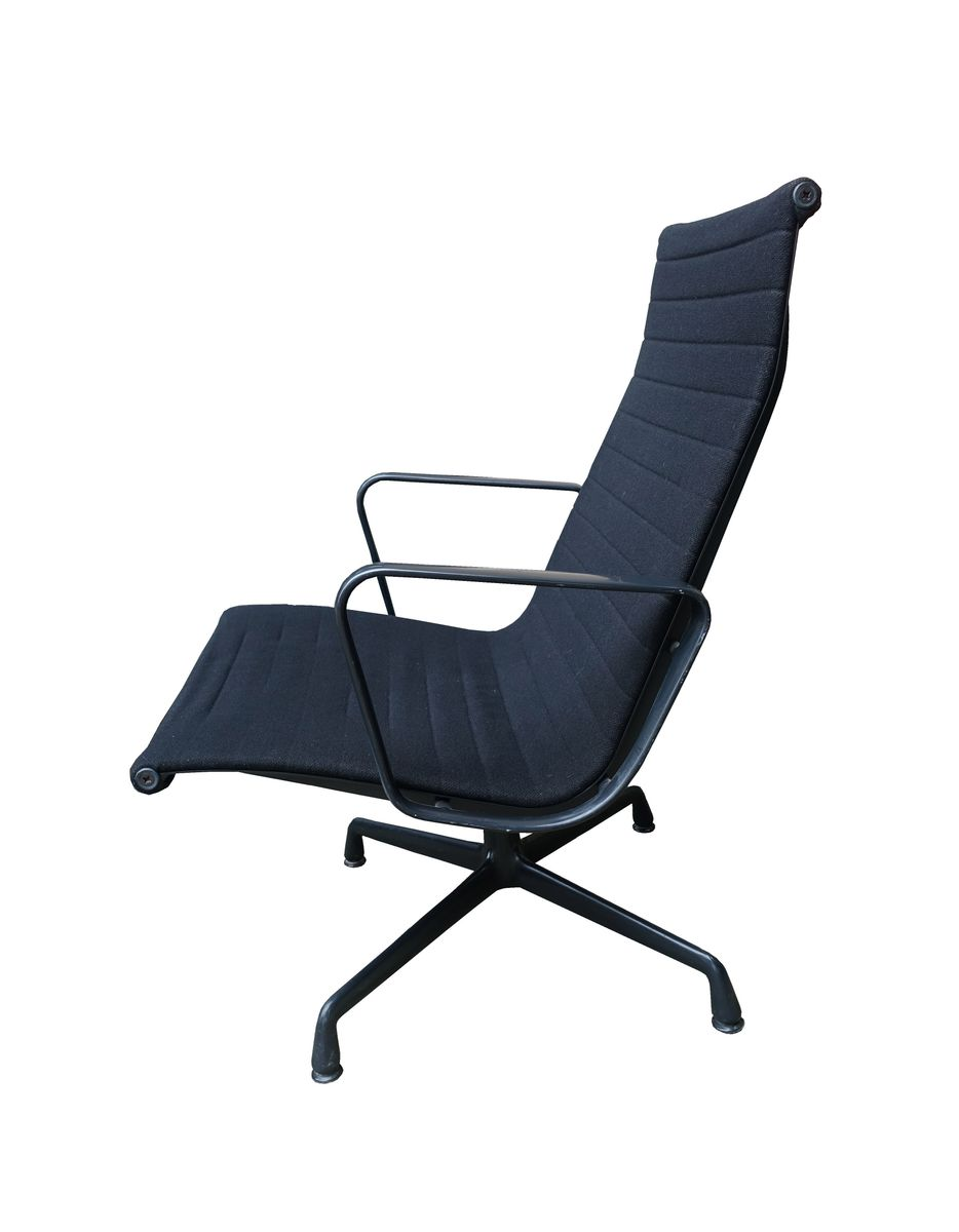 mid century ea 115 alu lounge chair by charles ray eames. Black Bedroom Furniture Sets. Home Design Ideas