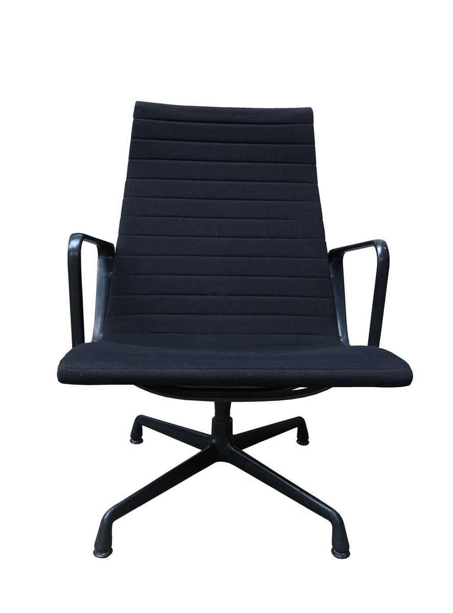 Mid century ea 115 alu lounge chair by charles ray eames for Eames alu chair nachbau