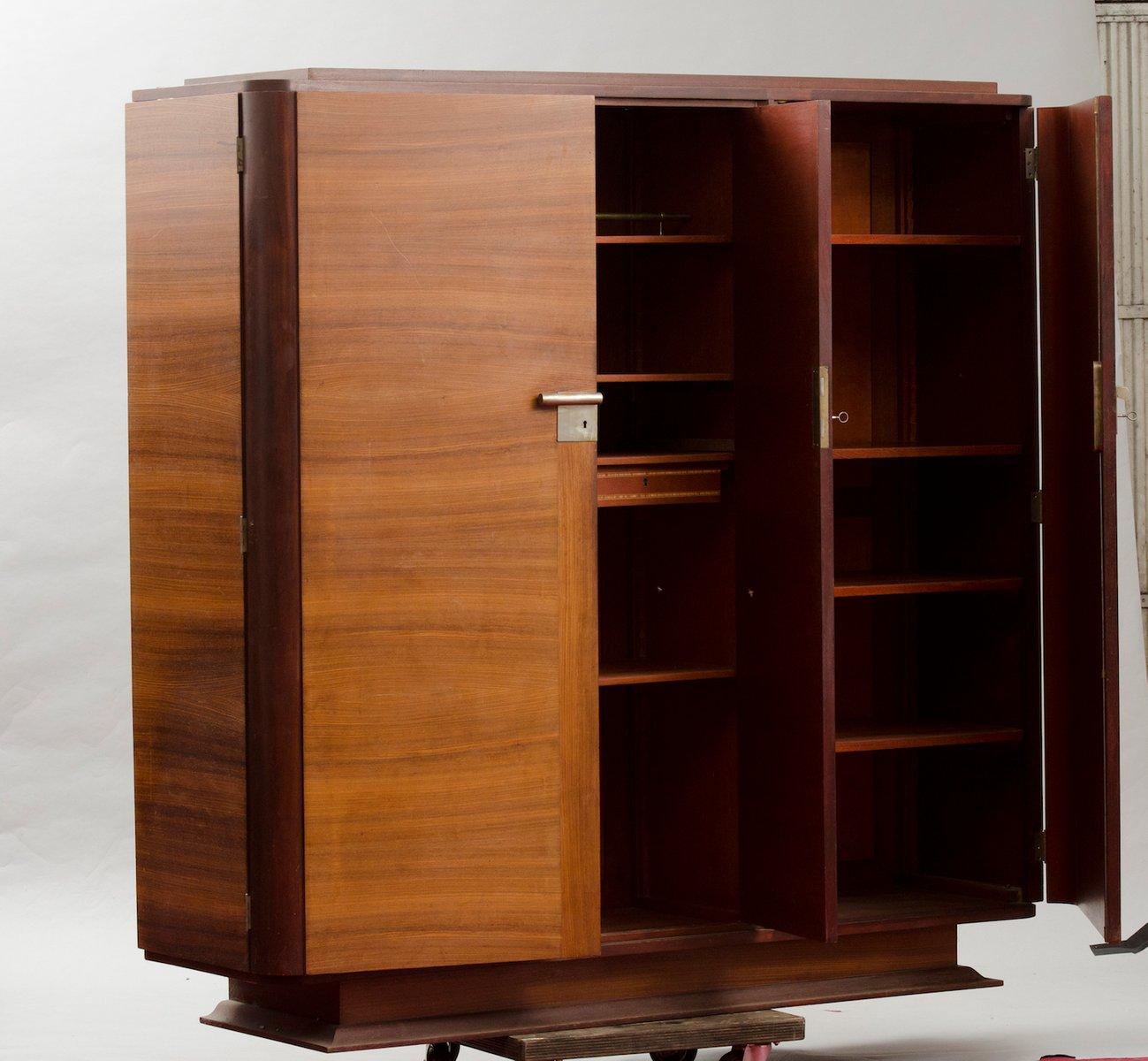 Kitchen Cabinet Veneer: Vintage Art Deco Rosewood Veneer Cabinet For Sale At Pamono