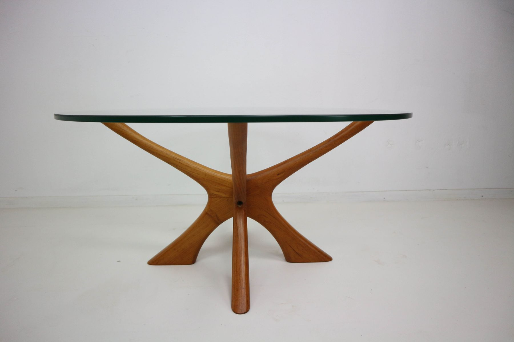 Mid century coffee table by illum wikkels for sren willadsen for mid century coffee table by illum wikkels for sren willadsen geotapseo Choice Image