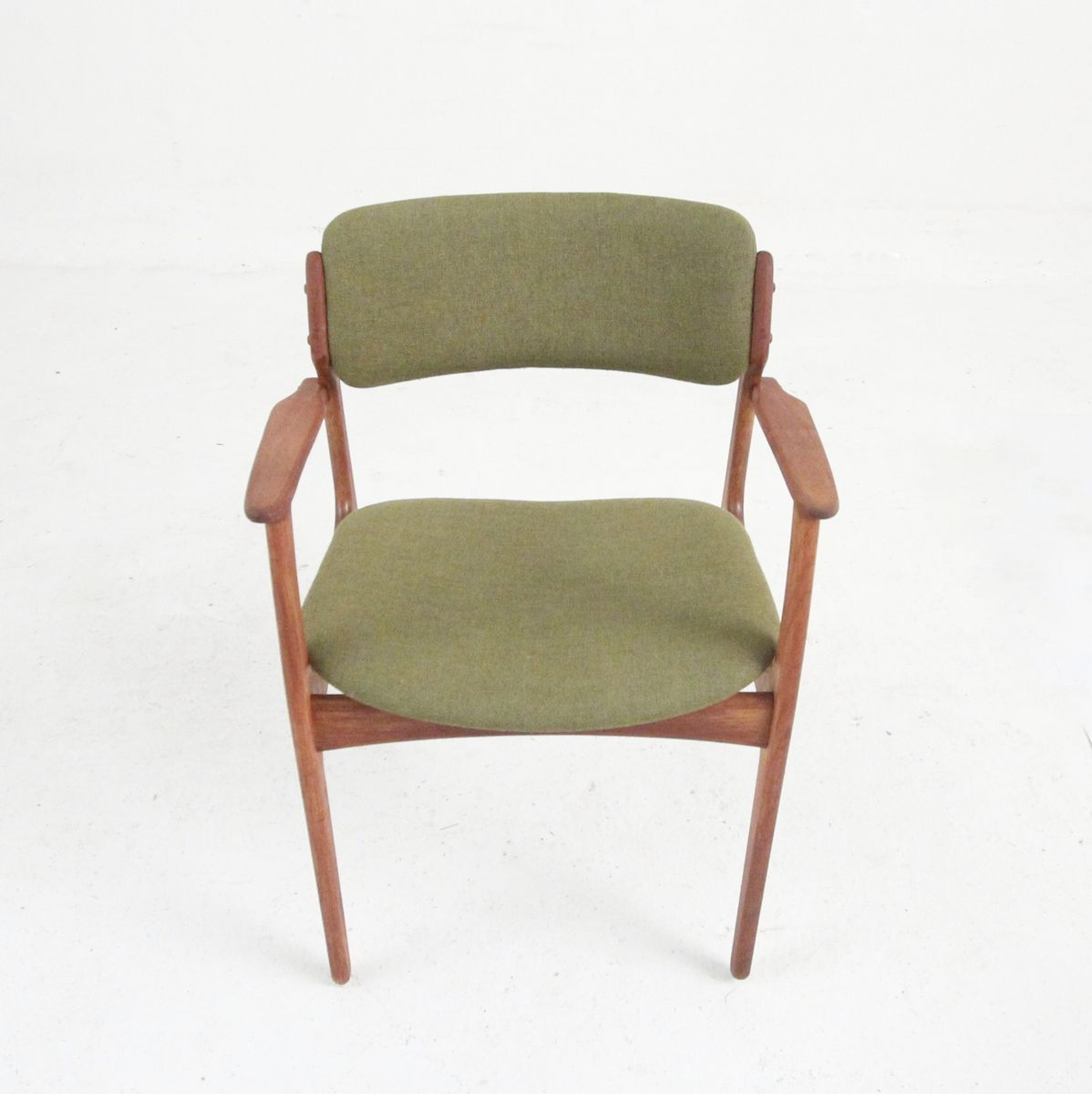 Mid Century Teak Dining Chairs By Erik Buch For Oddense