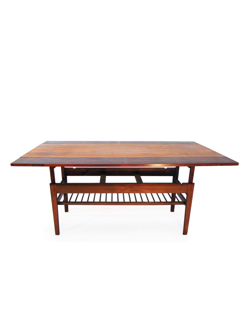 Danish Coffee Table In Rosewood 1960 For Sale At Pamono