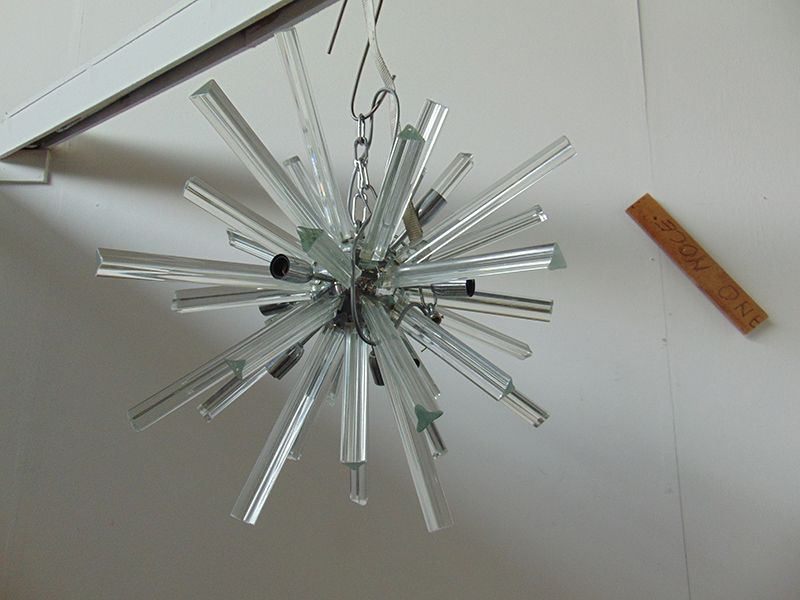 murano glas sputnik lampe bei pamono kaufen. Black Bedroom Furniture Sets. Home Design Ideas