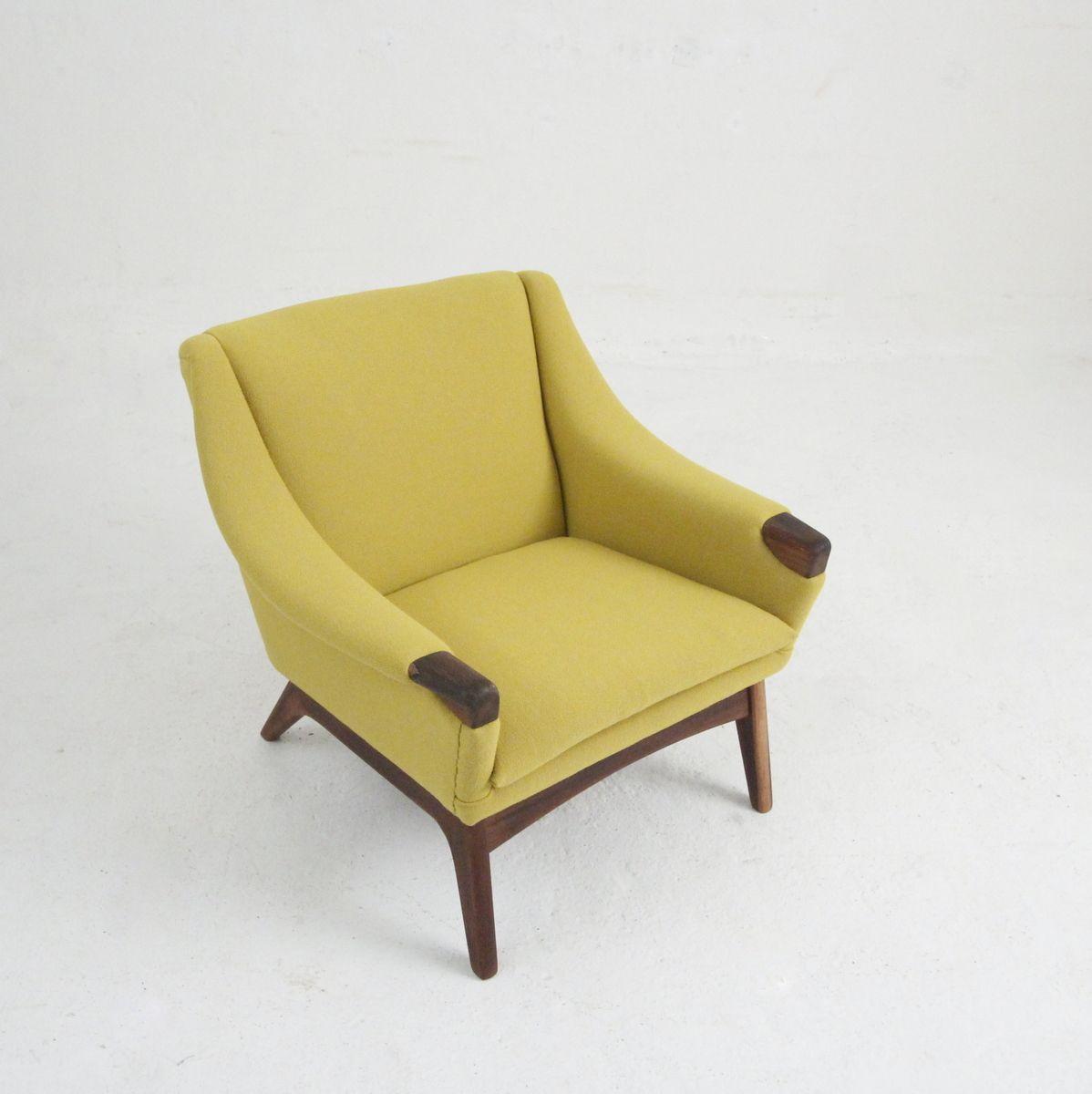 d nischer vintage sessel aus holz wolle bei pamono kaufen. Black Bedroom Furniture Sets. Home Design Ideas