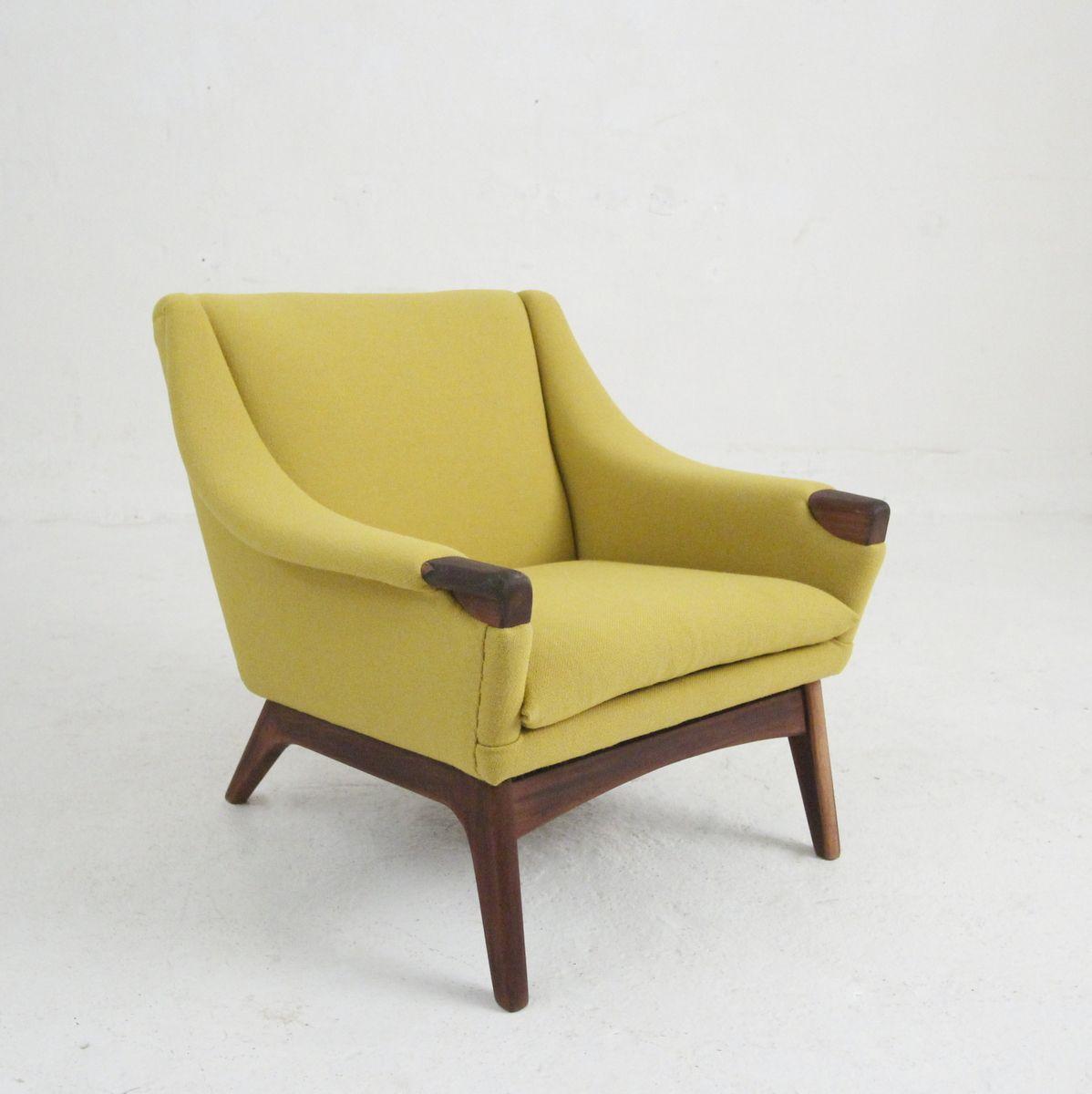 Sessel Aus Holz dänischer vintage sessel aus holz wolle bei pamono kaufen