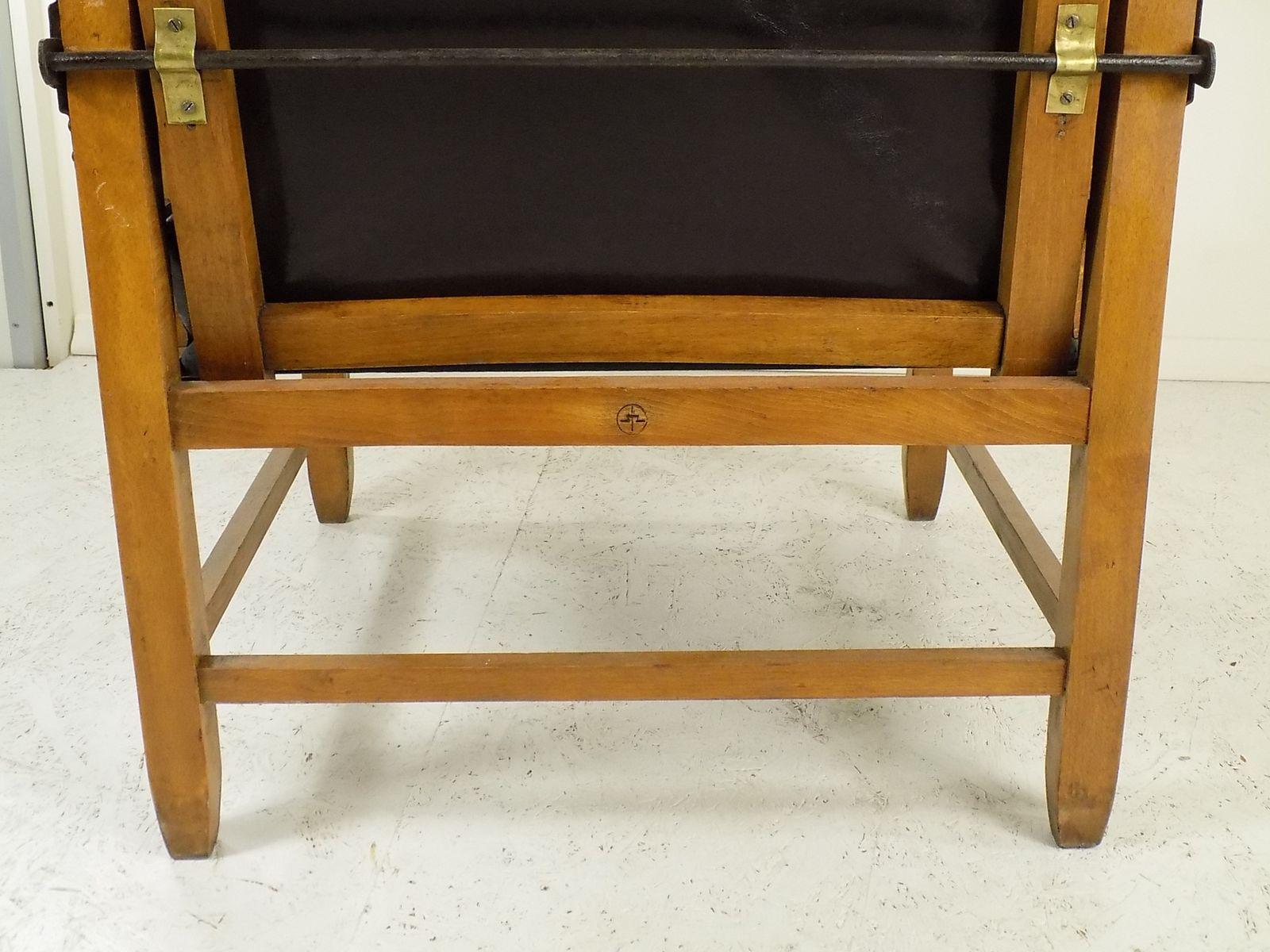 Bauhaus chair 1920 - Bauhaus Lounge Chair From Bauhochschule Weimar 1920s