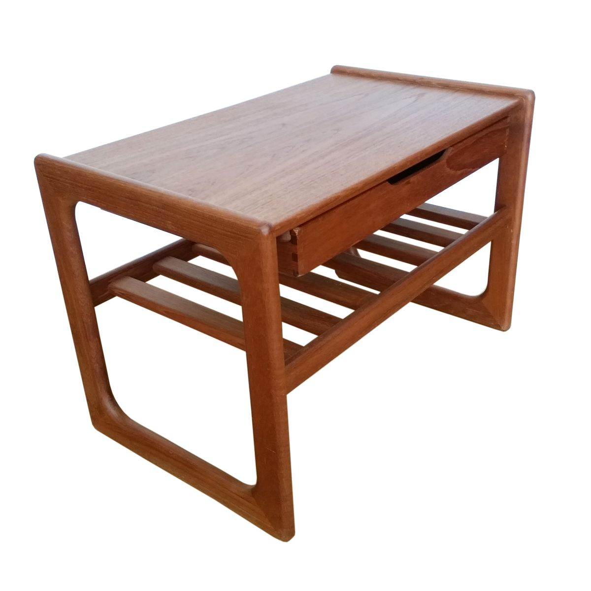Danish Teak Salin Coffee Table 1960s For Sale At Pamono