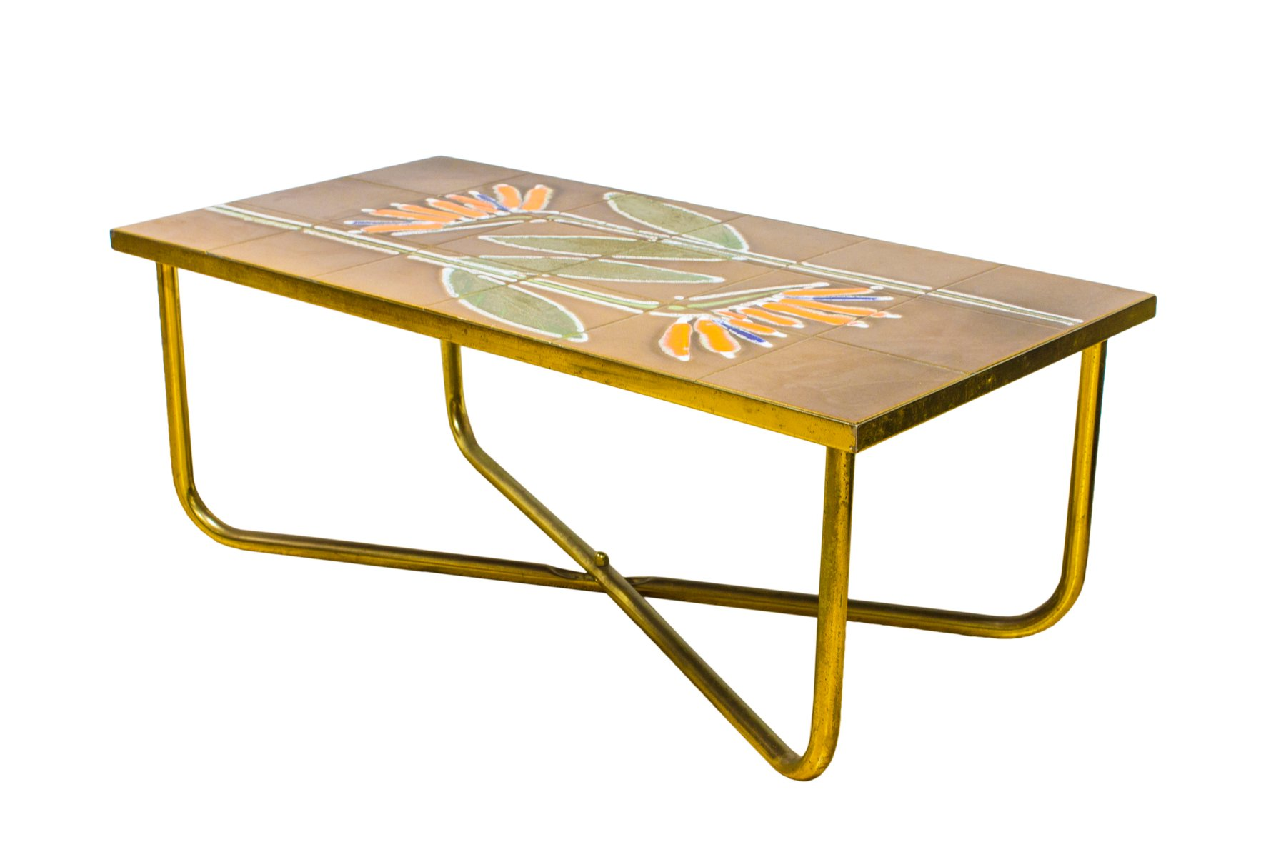 Vintage danish tiled coffee side table from adri for sale at pamono vintage danish tiled coffee side table from adri 6 85100 price per piece geotapseo Choice Image