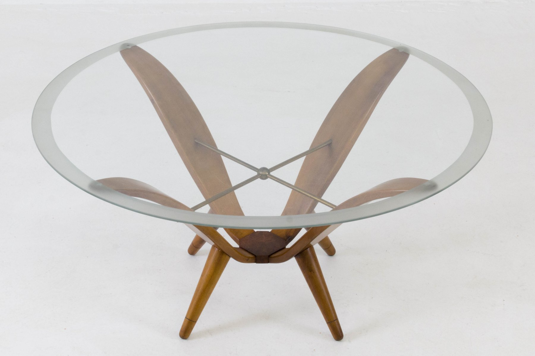Italian Mid Century Modern Coffee Table 1950s for sale at Pamono
