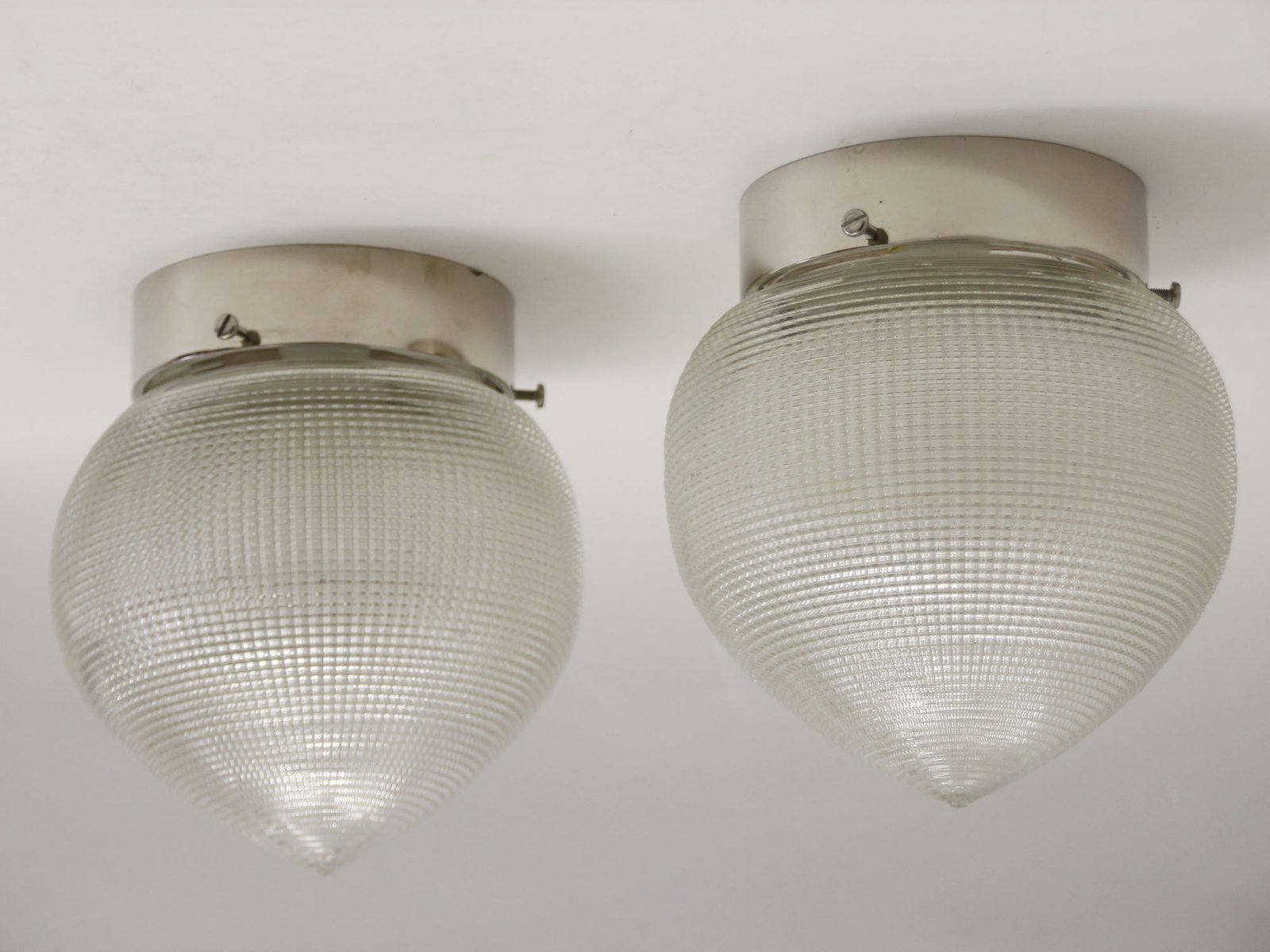 Vintage french industrial ceiling lights from holophane set of 2 vintage french industrial ceiling lights from holophane set of 2 mozeypictures Image collections