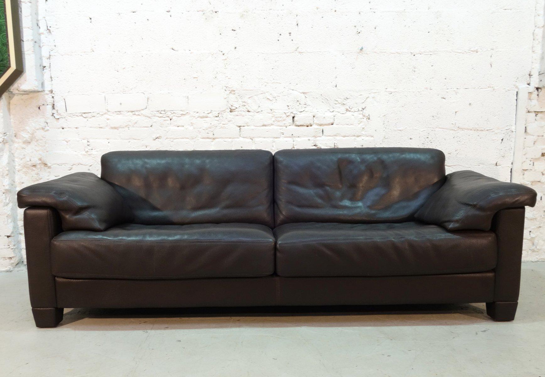 zwei sitzer sofa von de sede 1990er bei pamono kaufen. Black Bedroom Furniture Sets. Home Design Ideas