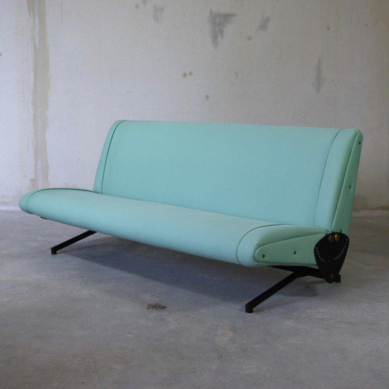 Vintage D70 Sleeper Sofa By Osvaldo Borsani For Tecno For