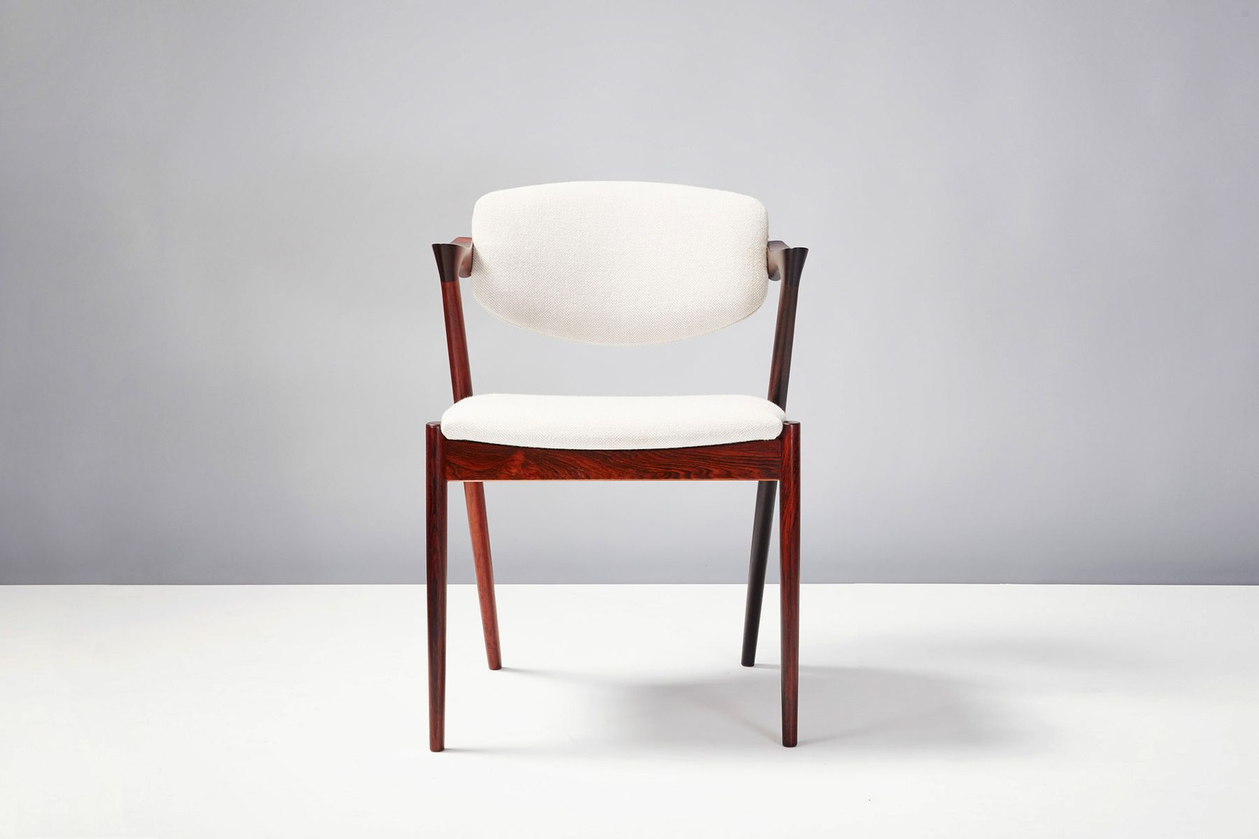 Model 42 dining chairs by kai kristiansen for skovman andersen 1956 set of 6 for sale at pamono - Kai kristiansen chairs ...