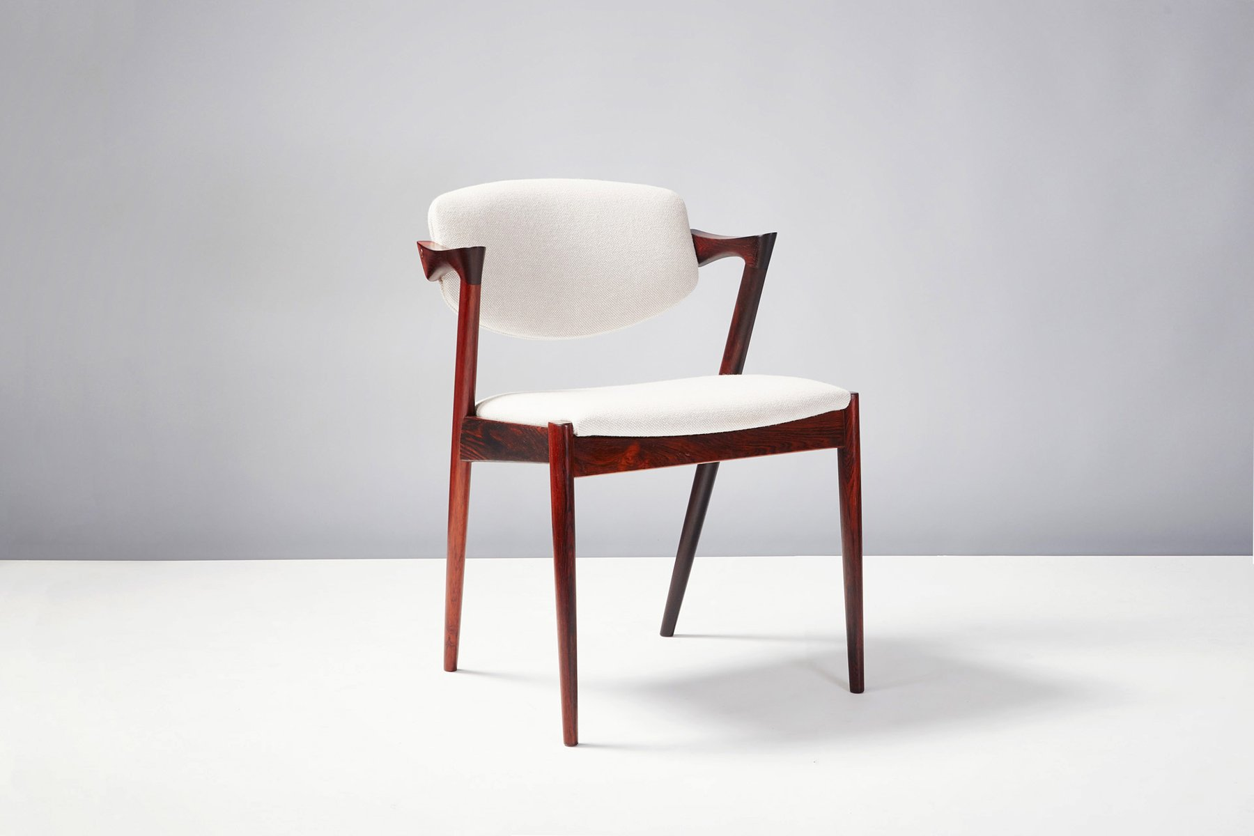 Model 42 Dining Chairs By Kai Kristiansen For Skovman Andersen, 1956, Set  Of 6