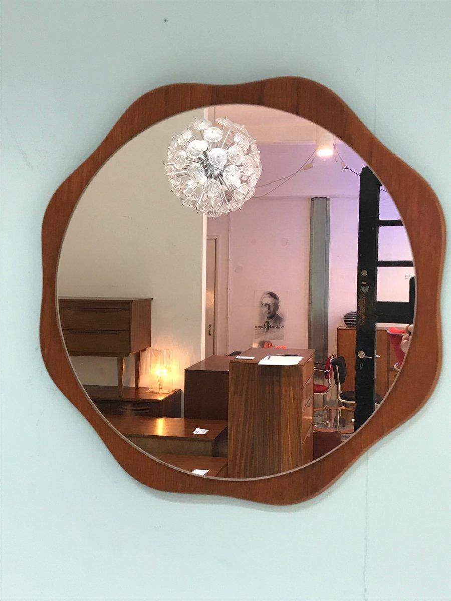 Mid-Century Teak Mirror, 1960s