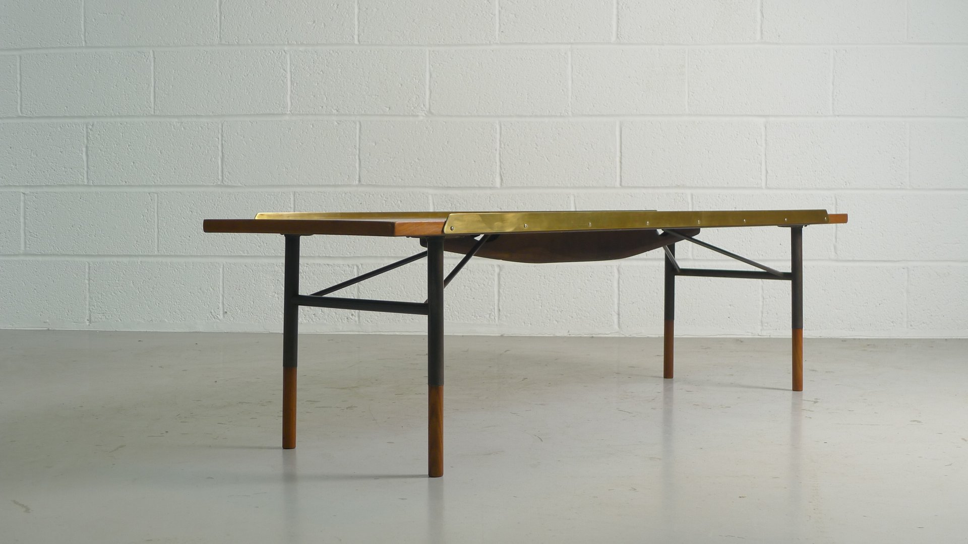 Coffee Table by Finn Juhl for Bovirk 1950s for sale at Pamono