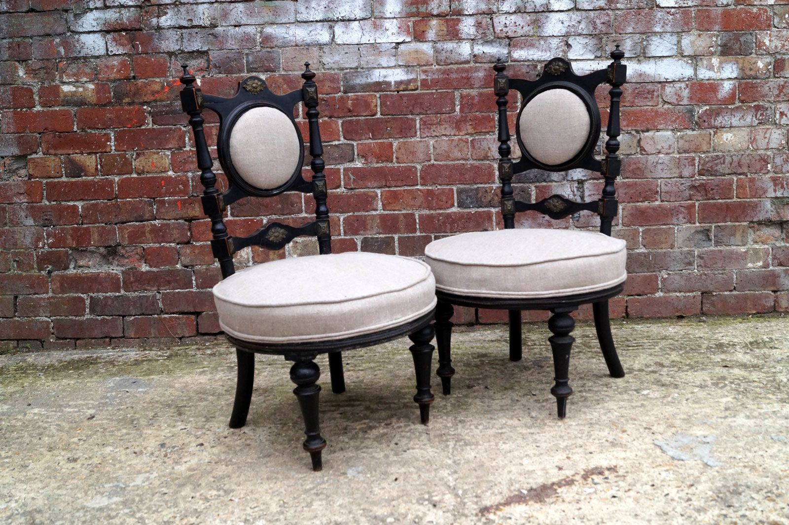 Antique victorian chairs - Price Per Set
