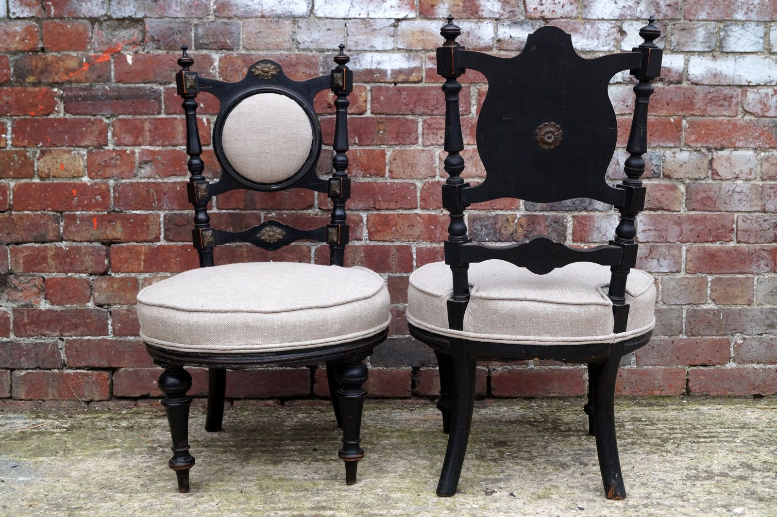 Antique victorian chairs - Antique Victorian Chairs Set Of 2
