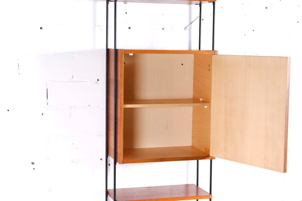 Wall mounted shelving system 1960s for sale at pamono Wall mounted shelf systems