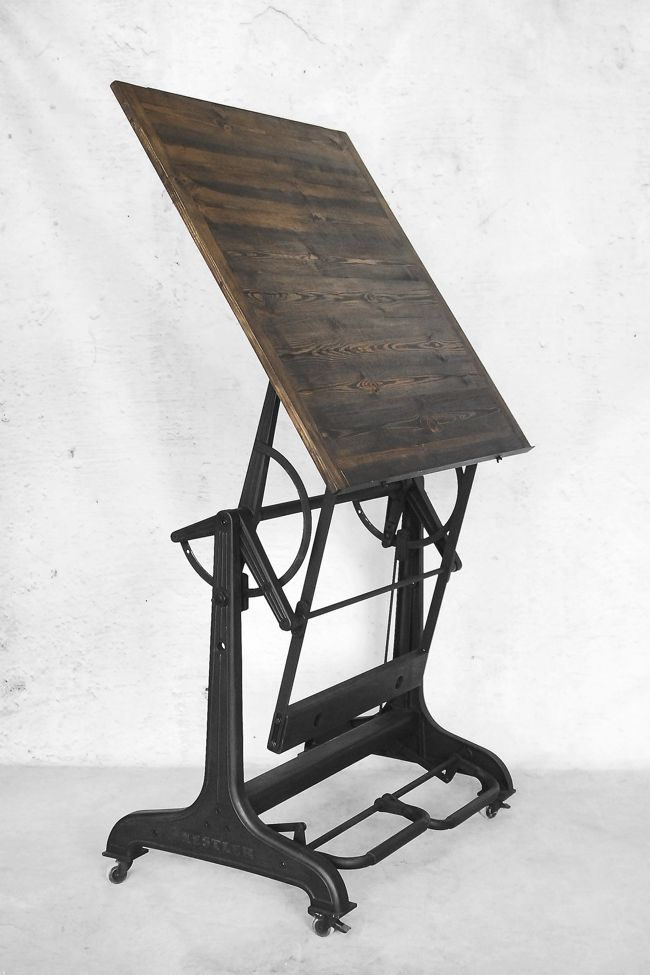 Industrial Drafting Table From Nestler 1930s For Sale At Pamono