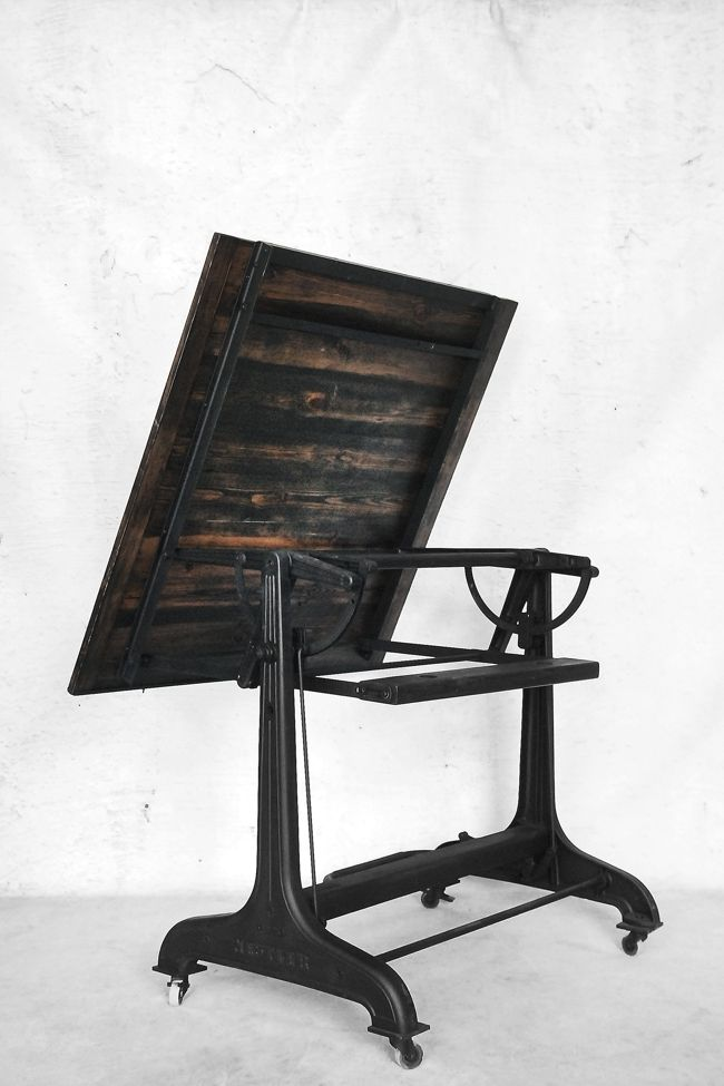 Industrial Drafting Table From Nestler 1930s For Sale At