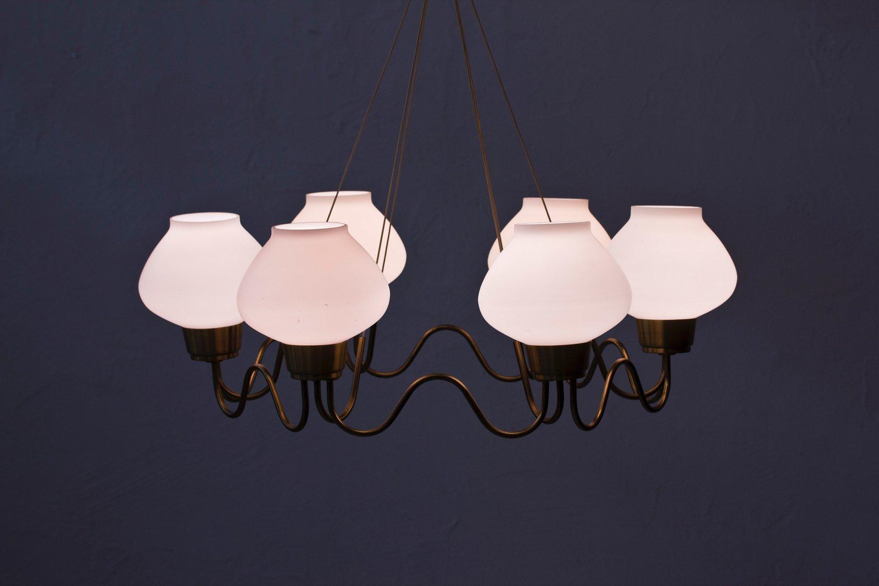 Swedish chandelier 1940s for sale at pamono swedish chandelier 1940s arubaitofo Gallery