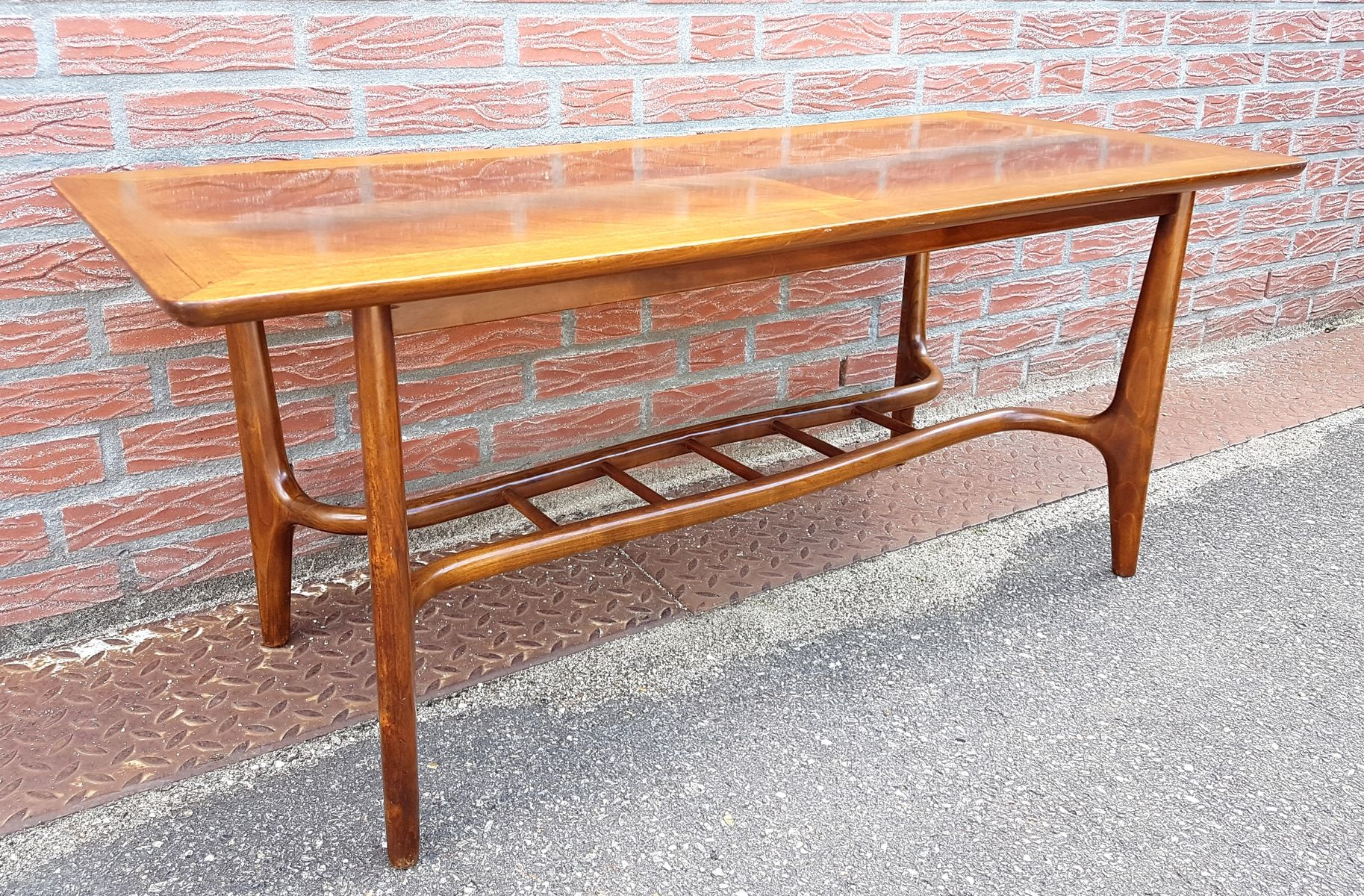 Mid Century Organic Coffee Table 1950s for sale at Pamono