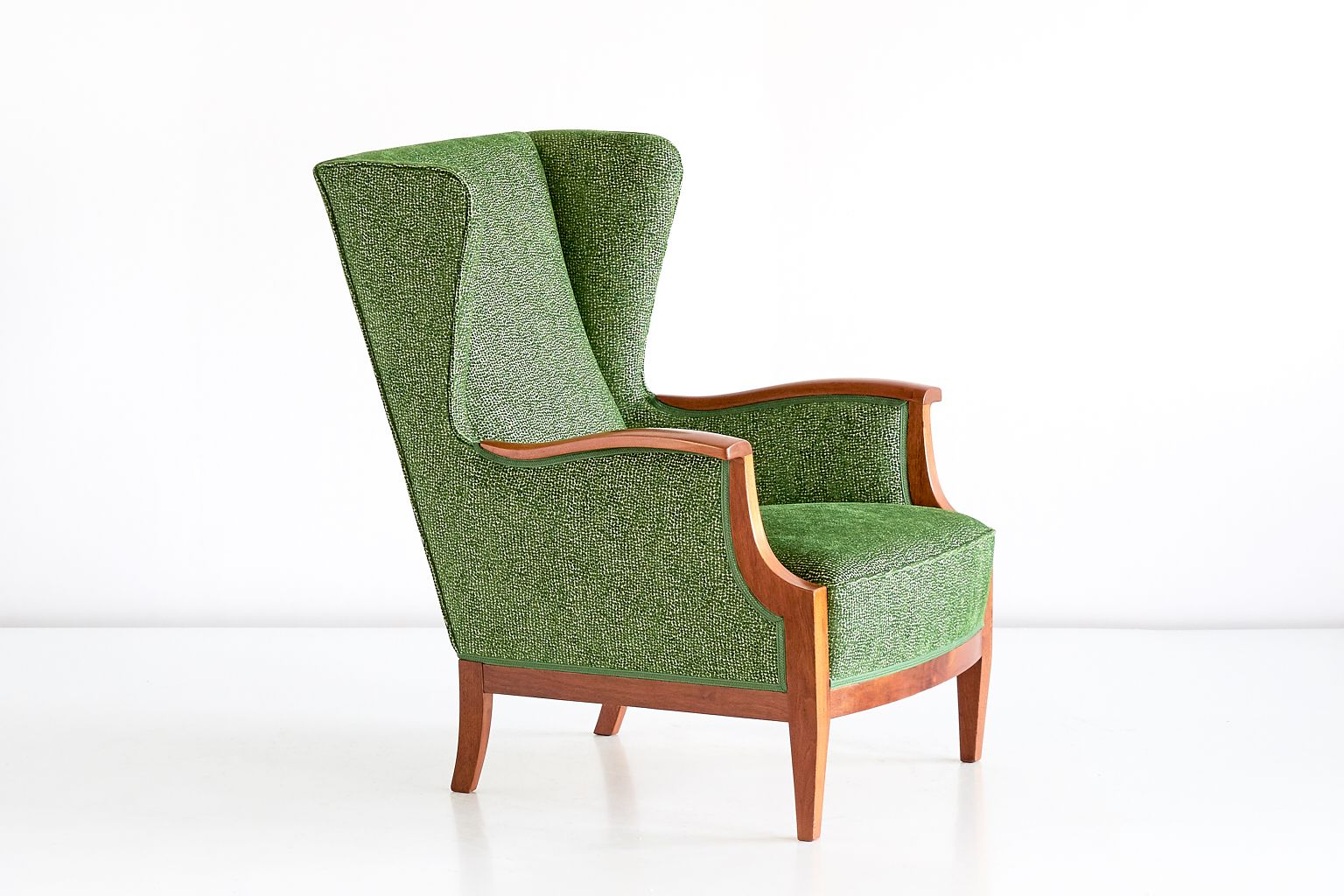 Wingback chair by frits henningsen 1930s for sale at pamono for Ohrensessel oliver