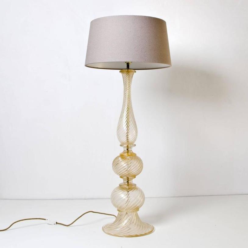 italienische vintage murano glas stehlampe von barovier. Black Bedroom Furniture Sets. Home Design Ideas
