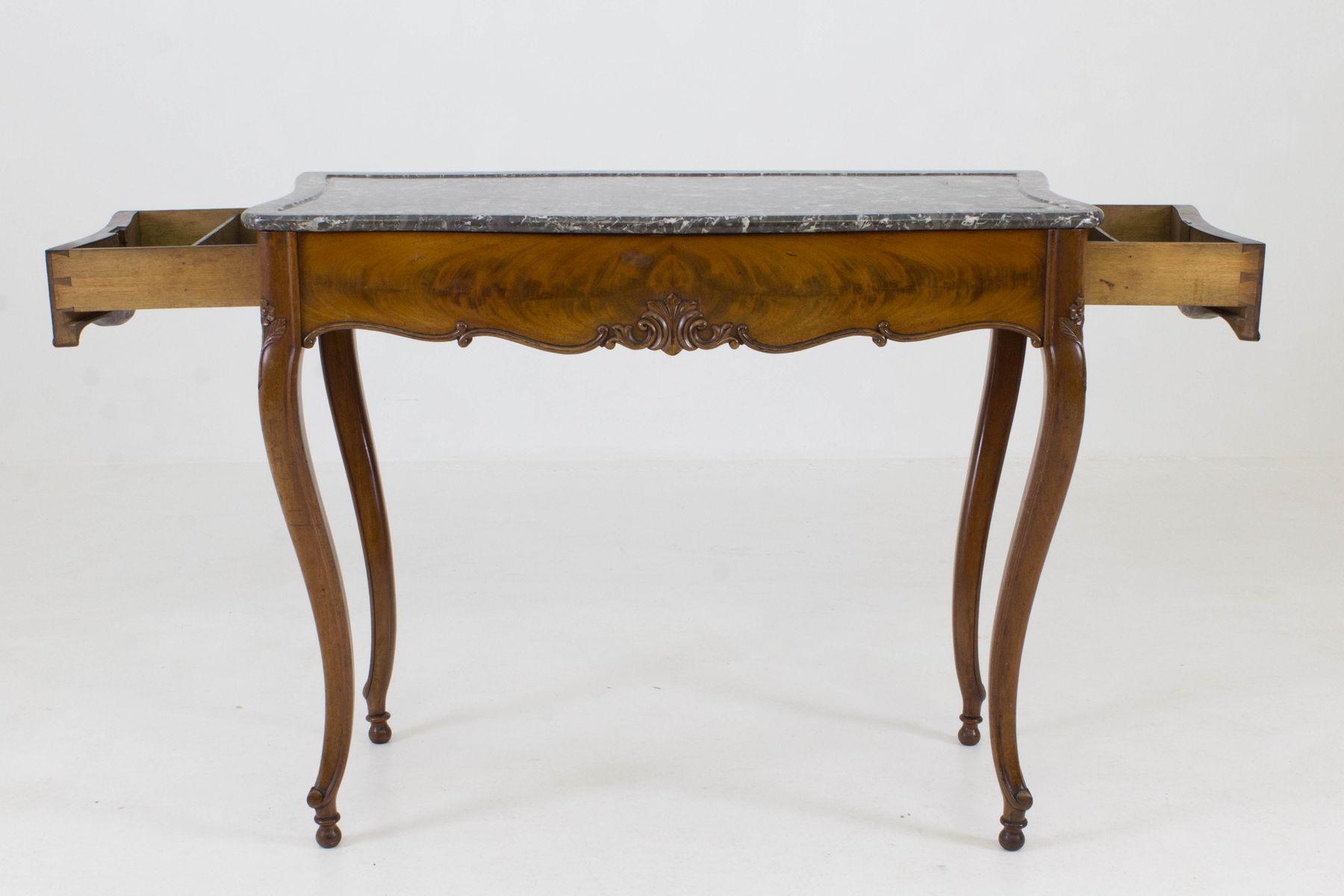 Franz sischer louis philippe beistelltisch mit for Beistelltisch marmorplatte