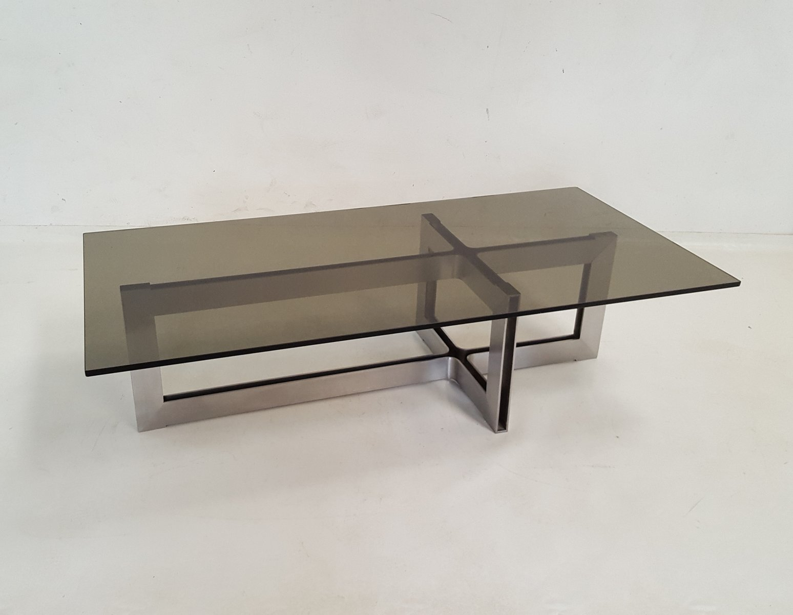 Stainless Steel And Glass Coffee Table, 1970s 11. $1,347.00. Price Per Piece