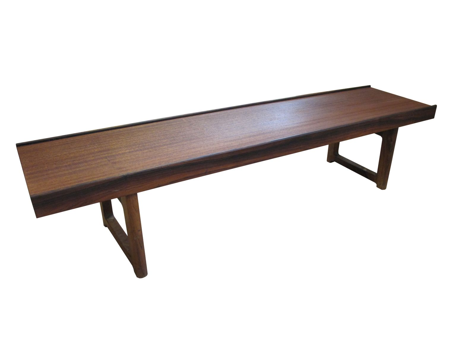 Mid Century Low Bench By Torbj Rn Afdal For Bruksbo For Sale At Pamono
