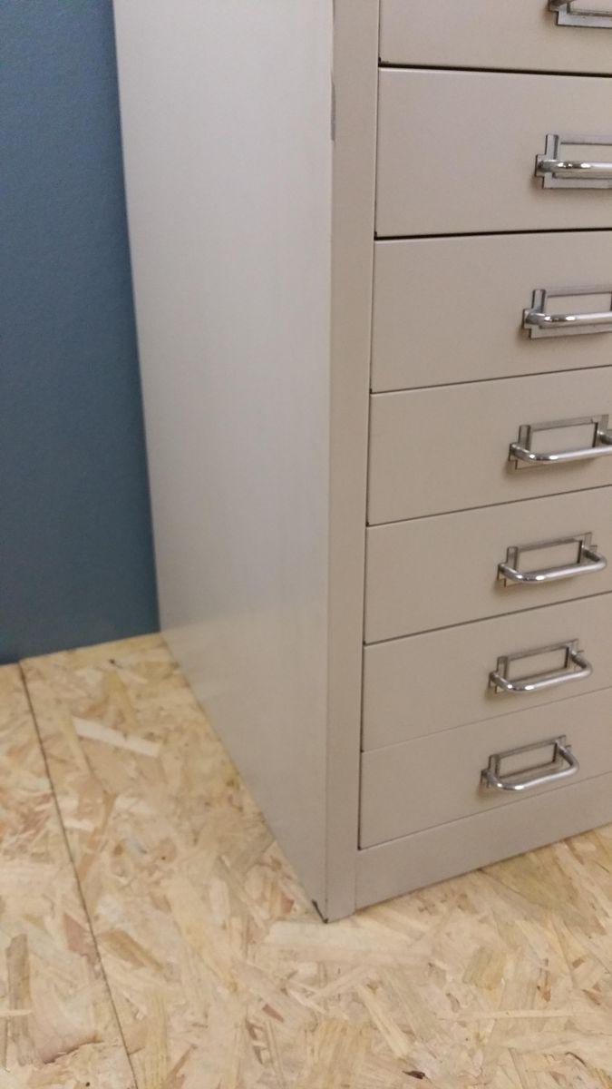 industrieller aktenschrank aus metall von backfield 1970er bei pamono kaufen. Black Bedroom Furniture Sets. Home Design Ideas