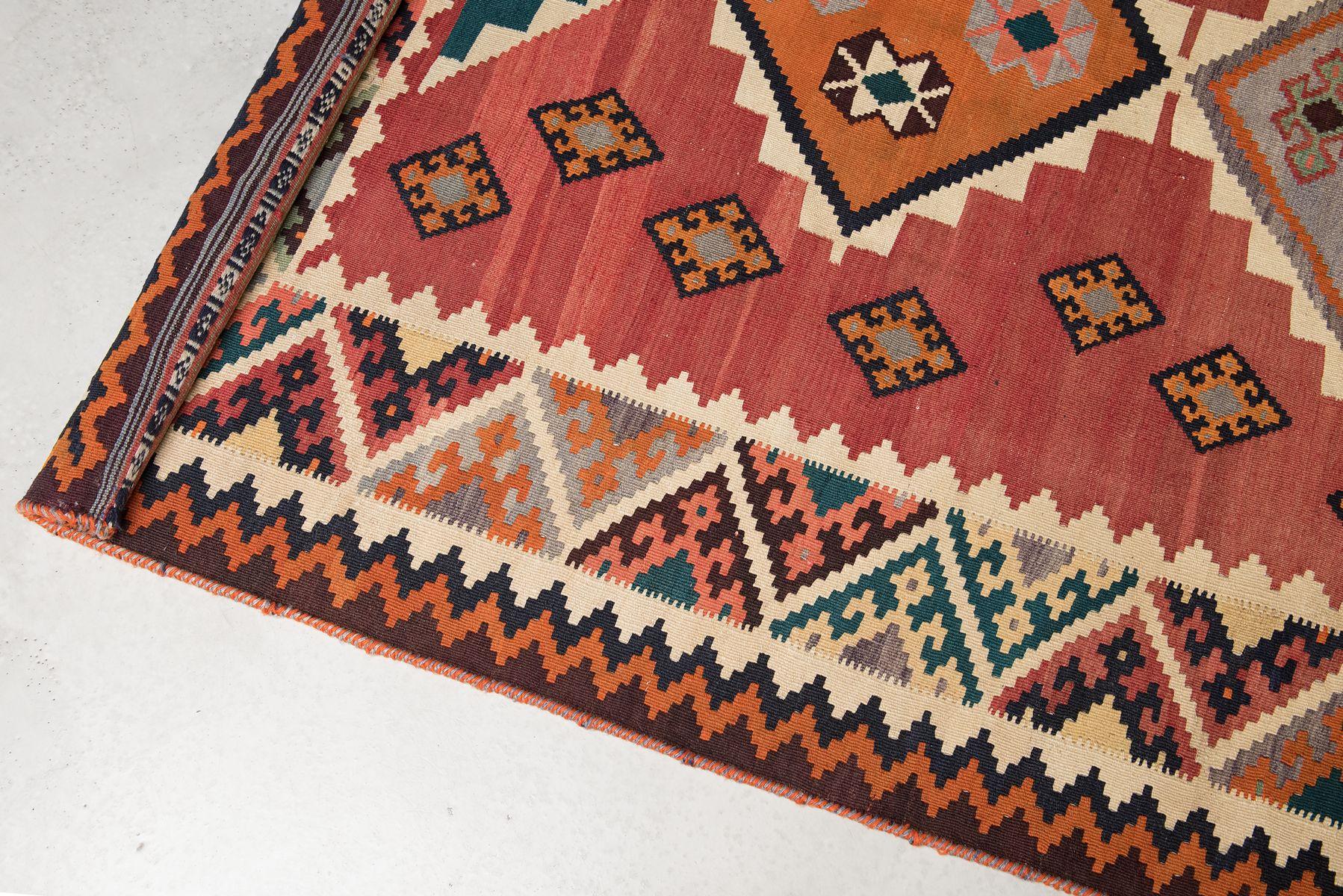 vintage kilim levant teppich 1960er bei pamono kaufen. Black Bedroom Furniture Sets. Home Design Ideas
