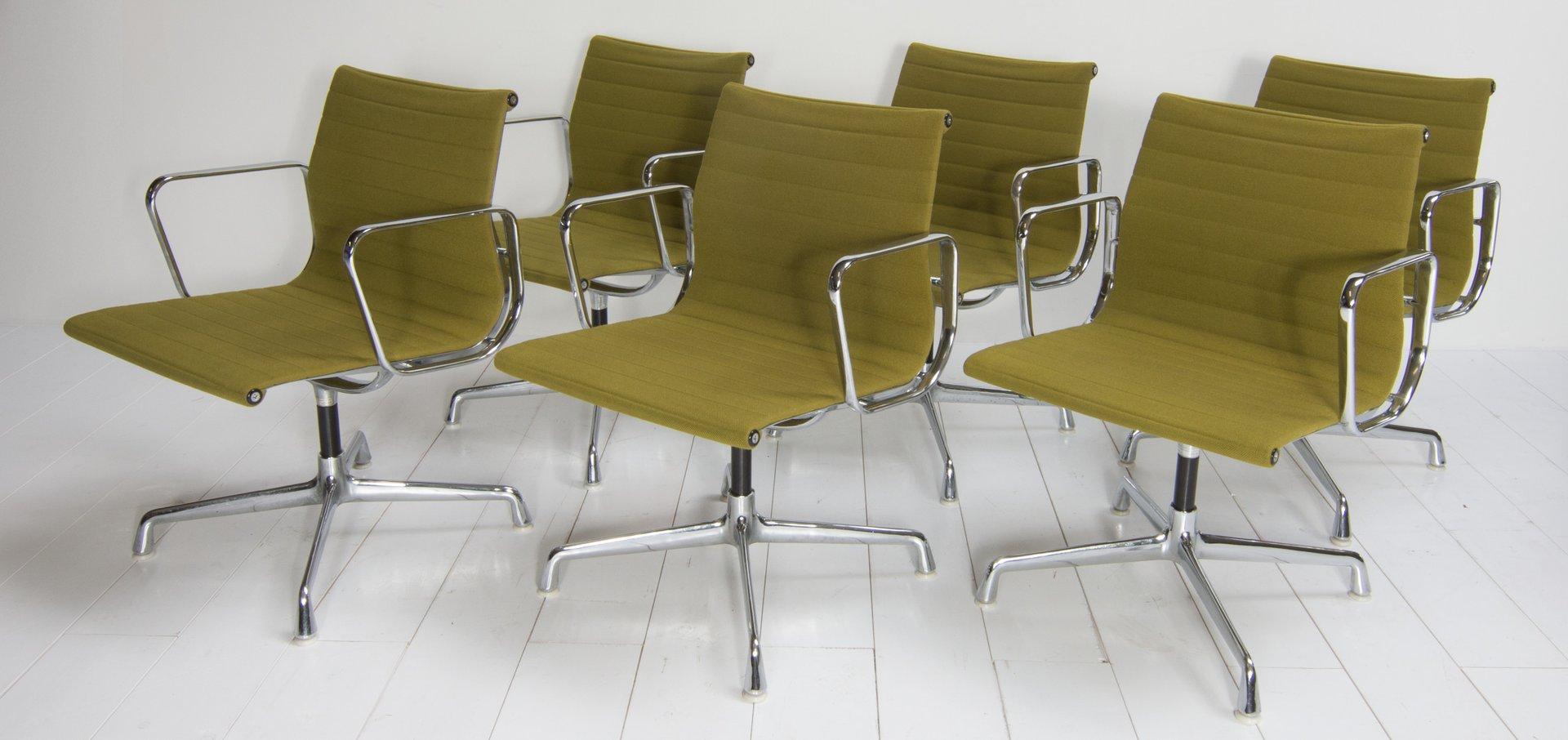 vintage ea108 st hle von charles ray eames f r vitra 6er set bei pamono kaufen. Black Bedroom Furniture Sets. Home Design Ideas