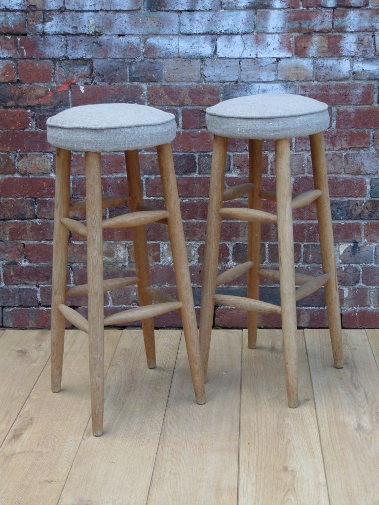 Vintage Bar Stools Set Of 4 For Sale At Pamono