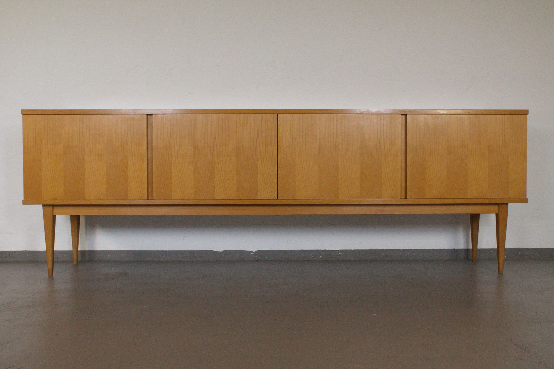 cherry sideboard from wk m bel 1960s for sale at pamono. Black Bedroom Furniture Sets. Home Design Ideas