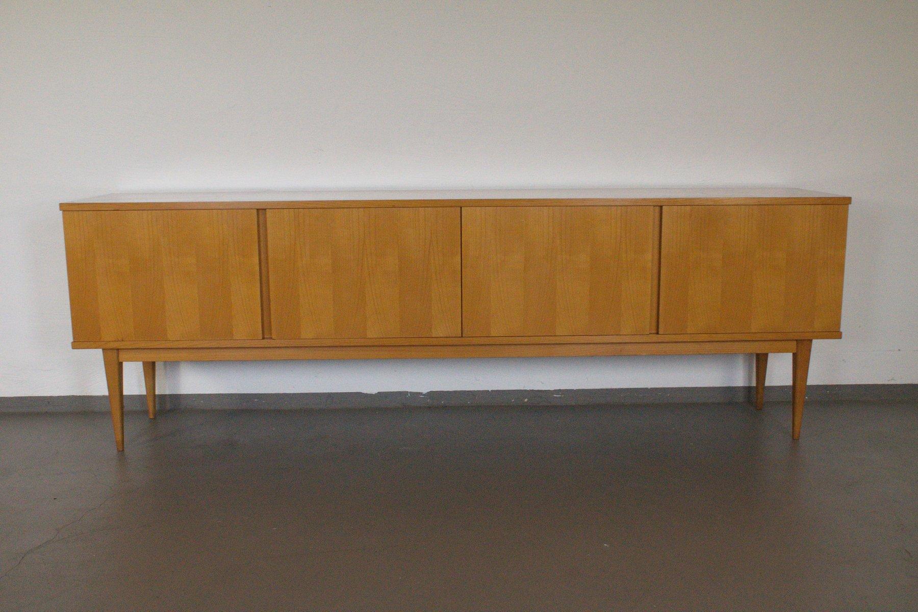 sideboard aus kirschholz von wk m bel 1960er bei pamono. Black Bedroom Furniture Sets. Home Design Ideas