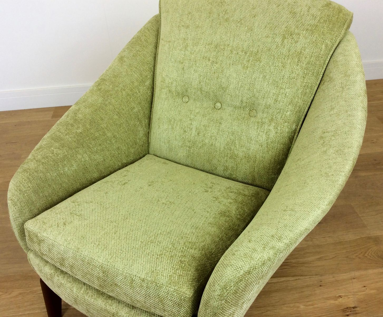 gr ner vintage sessel 1960er bei pamono kaufen. Black Bedroom Furniture Sets. Home Design Ideas