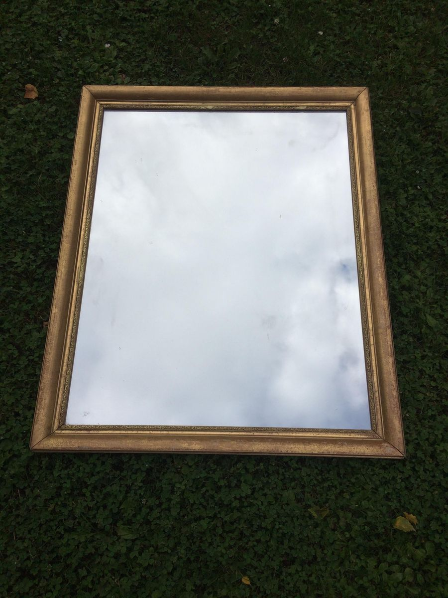 French gilt mirror 1920s for sale at pamono for What is a gilt mirror