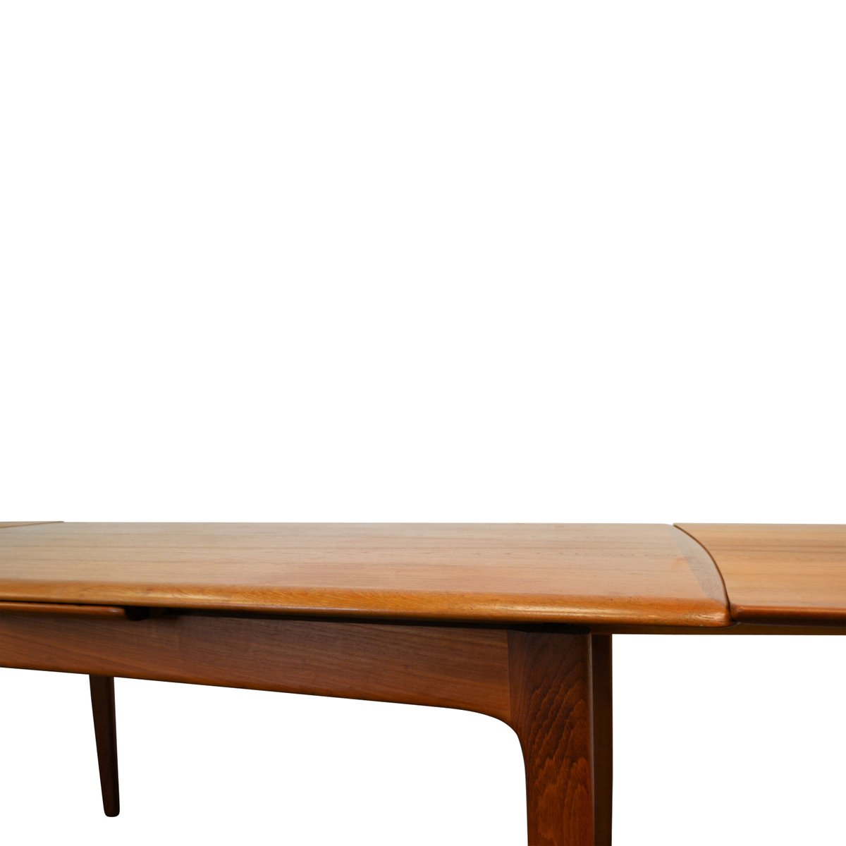 Mid Century Extendable Teak Dining Table by Svend Aage  : mid century extendable teak dining table by svend aage madsen for k knudsen son 17 from www.pamono.com size 1200 x 1200 jpeg 37kB