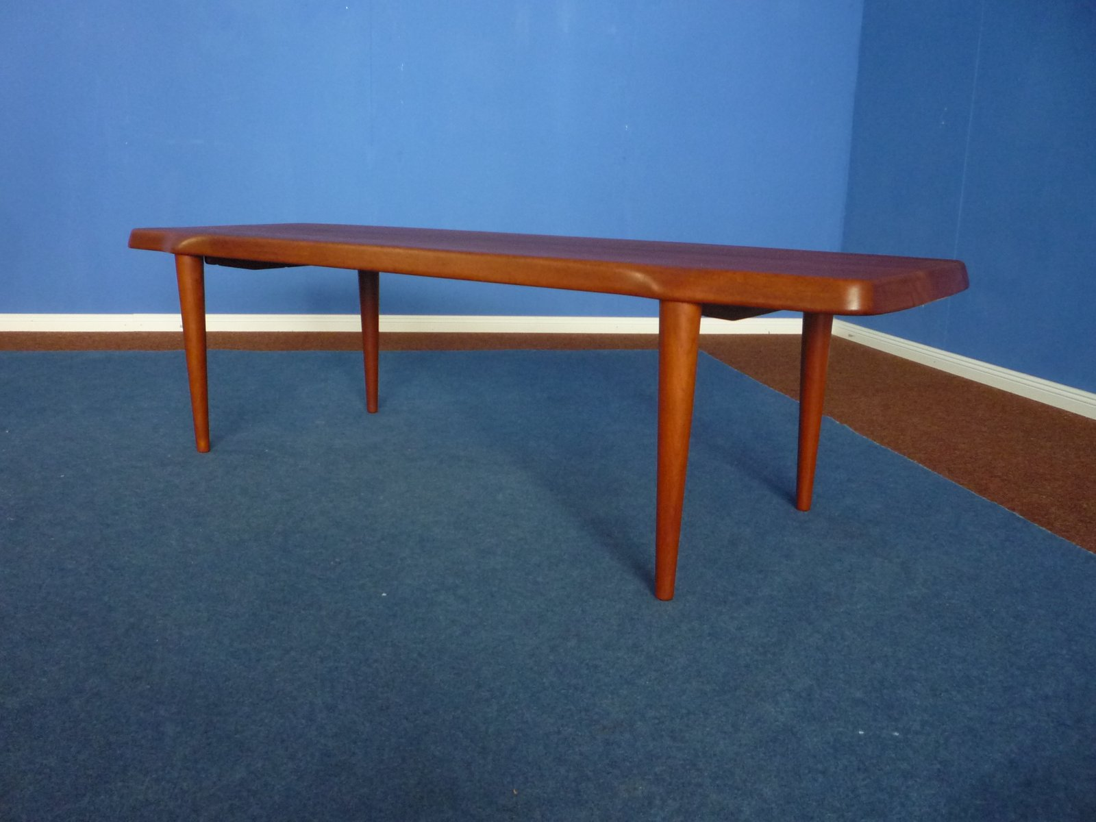 Danish Teak Coffee Table By John Bone For Mikael Laursen 1960s For Sale At Pamono