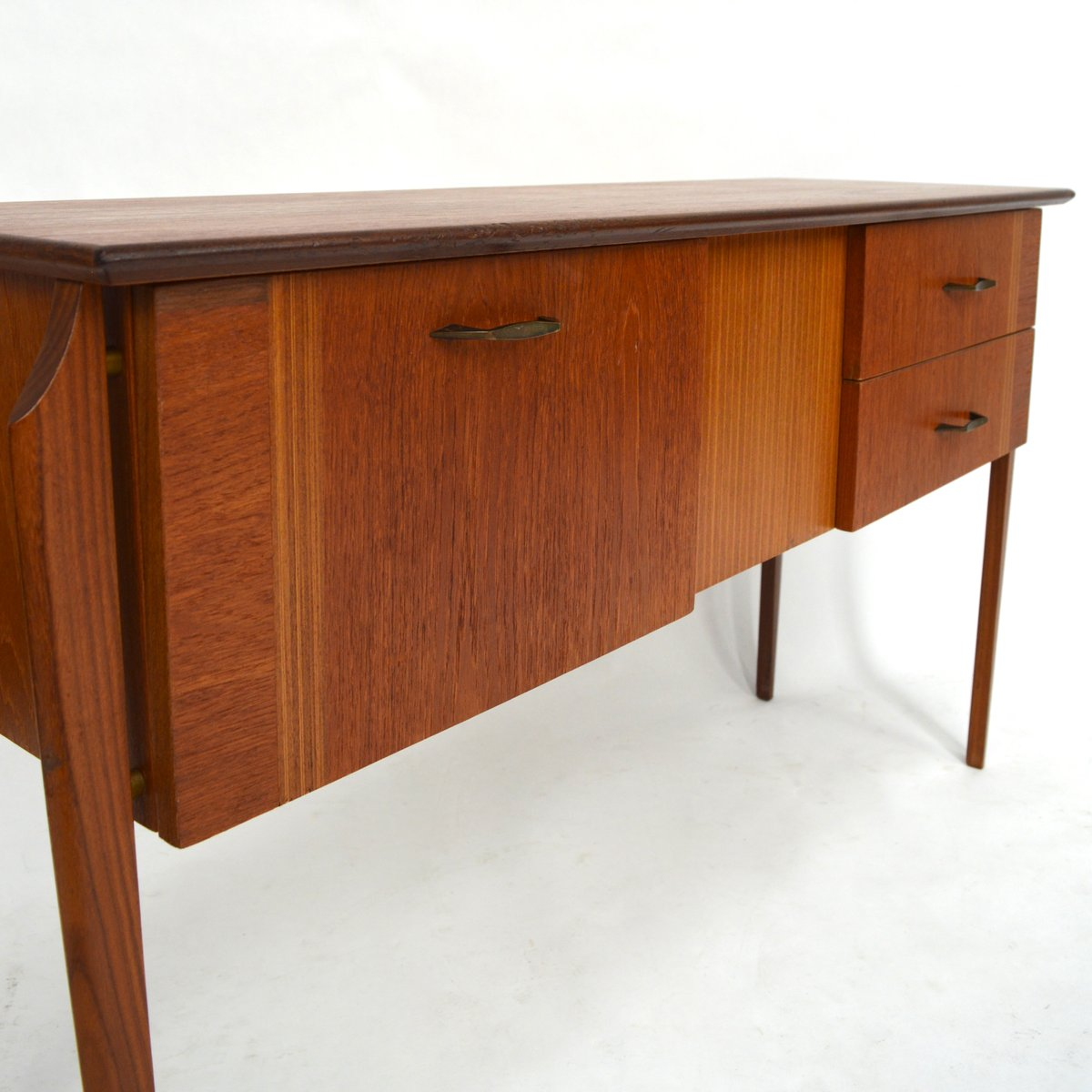 mid century teak sideboard bei pamono kaufen. Black Bedroom Furniture Sets. Home Design Ideas