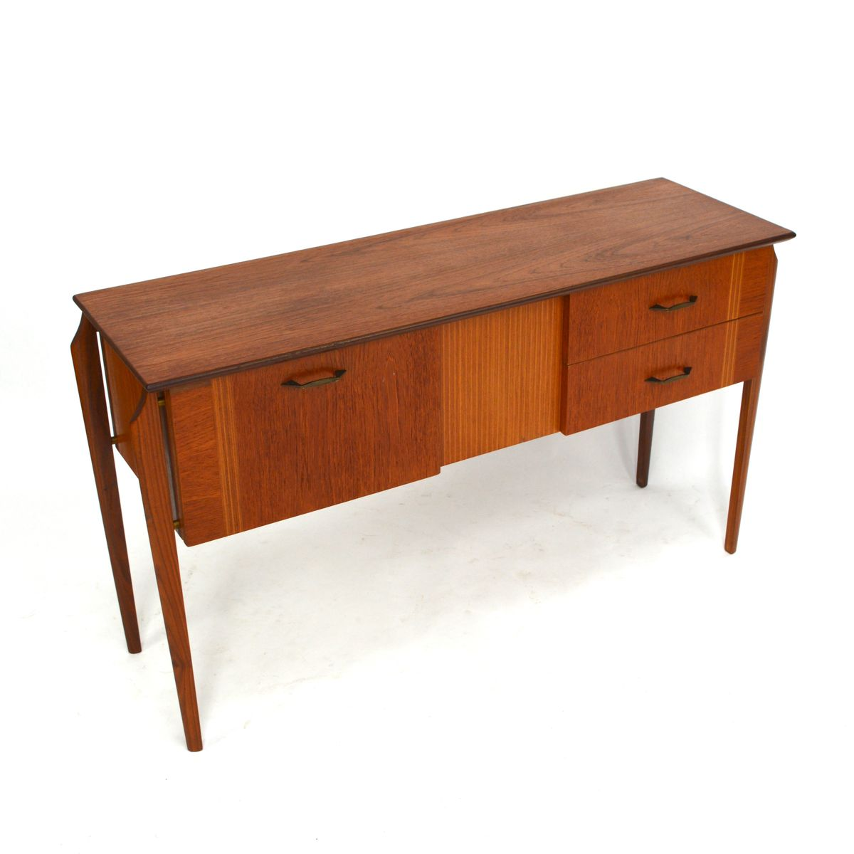 mid century teak sideboard for sale at pamono. Black Bedroom Furniture Sets. Home Design Ideas