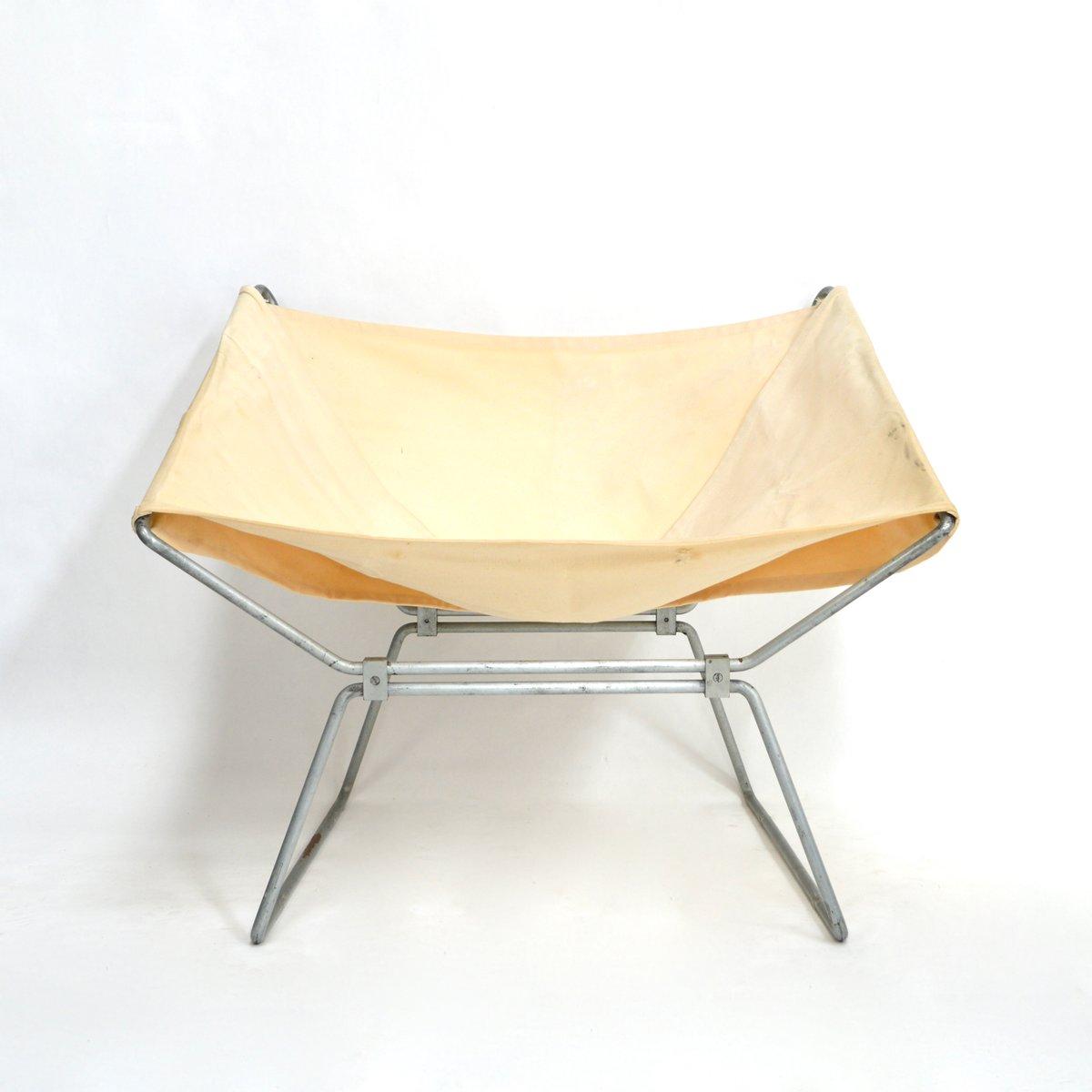 chaise ap 14 par pierre paulin pour a polak 1950s en vente sur pamono. Black Bedroom Furniture Sets. Home Design Ideas