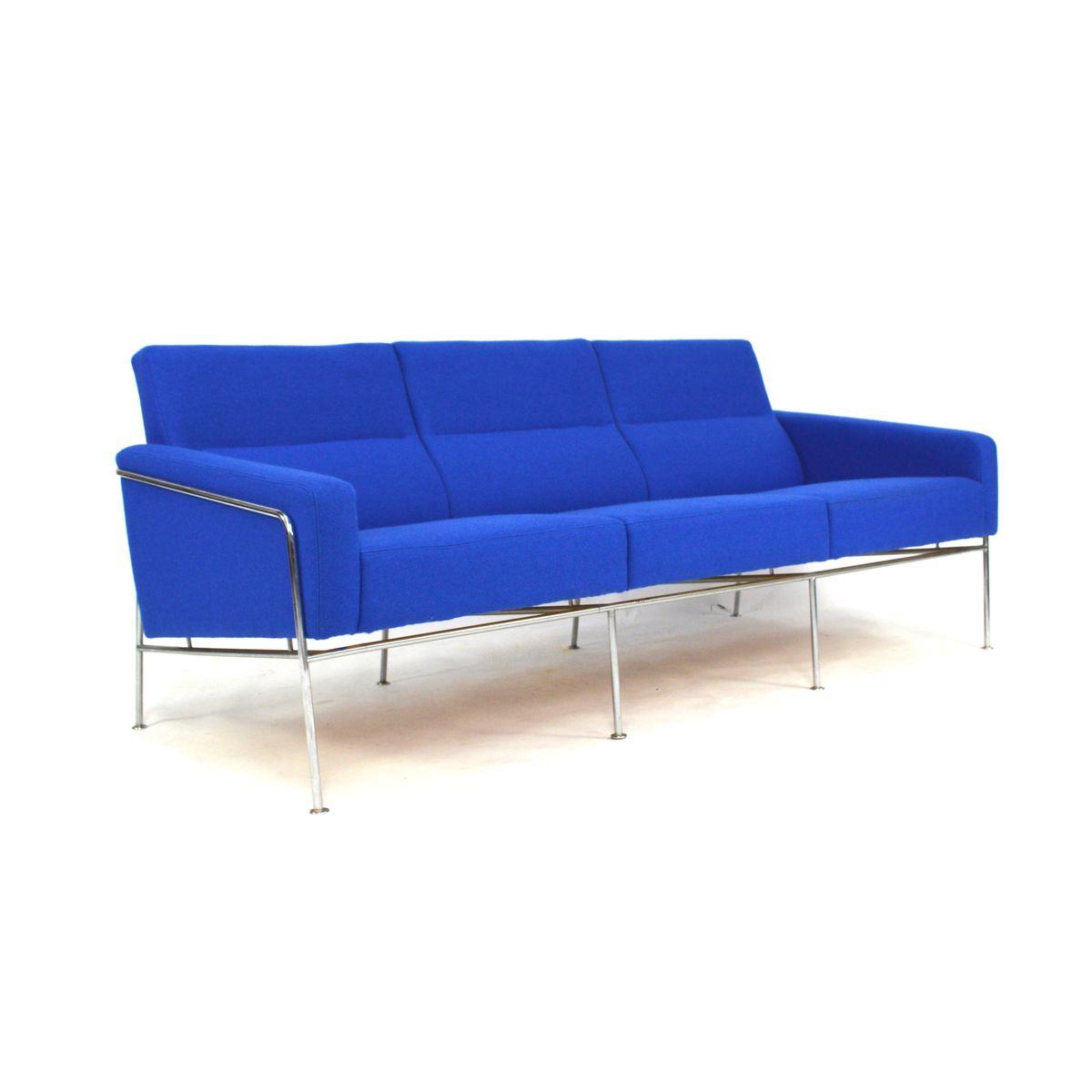 3300 sofa by arne jacobsen for fritz hansen 1970s for. Black Bedroom Furniture Sets. Home Design Ideas