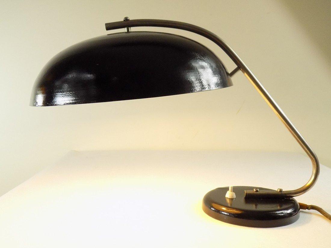 polnische bauhaus schreibtischlampe von mzao 1950er bei pamono kaufen. Black Bedroom Furniture Sets. Home Design Ideas