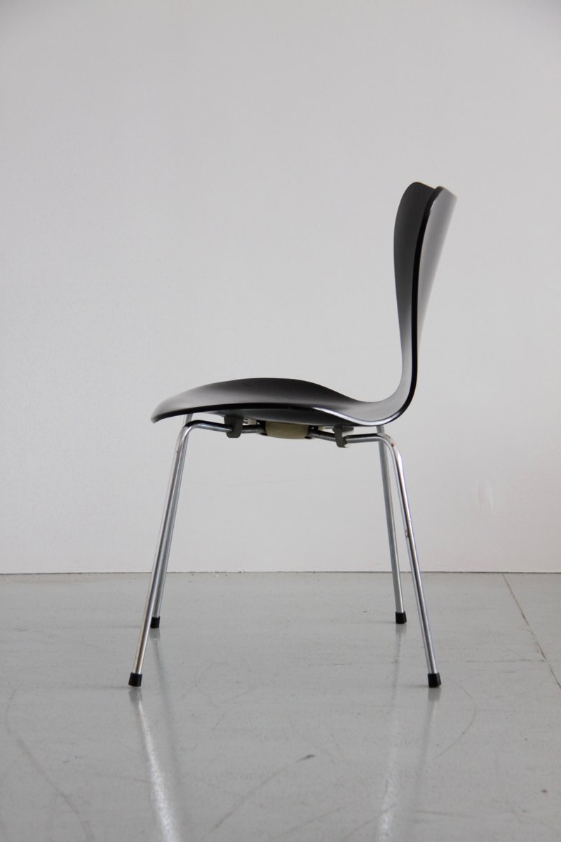 Butterfly chair black - 3107 Series Butterfly Chair By Arne Jacobsen For Fritz Hansen 1968 Set Of 10