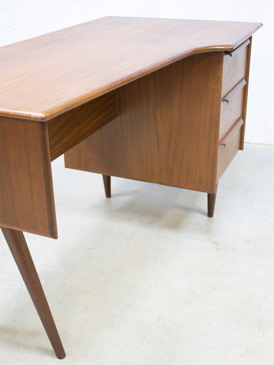 d nischer mid century schreibtisch 1960er bei pamono kaufen. Black Bedroom Furniture Sets. Home Design Ideas