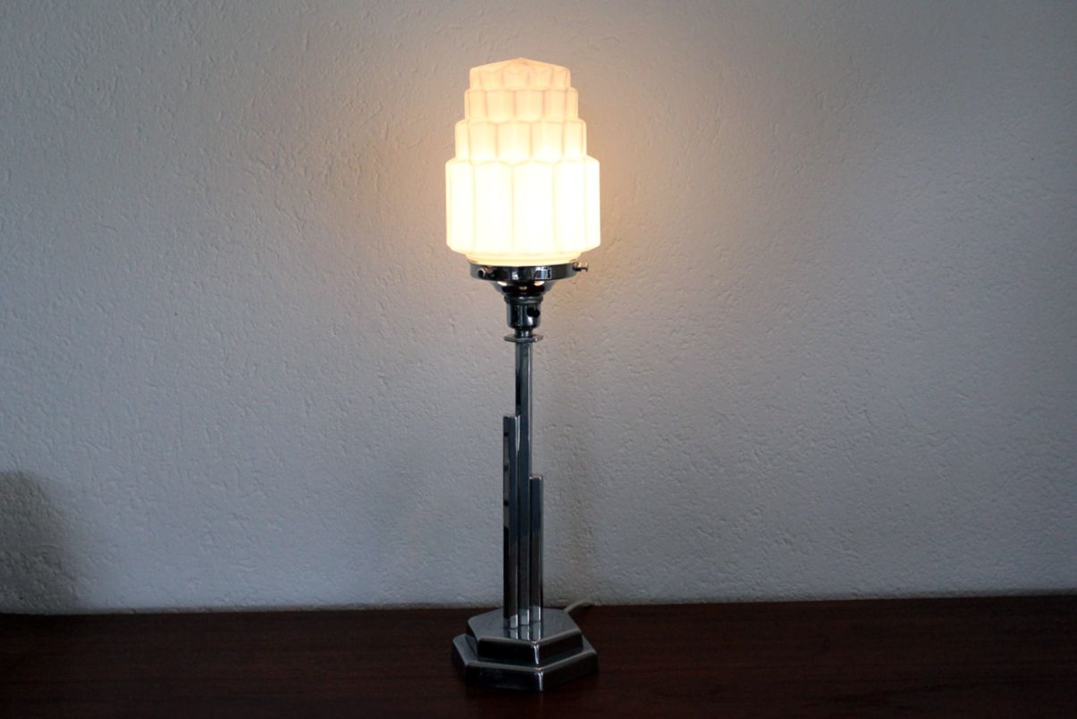 French Art Deco Table Lamp, 1930s for sale at Pamono